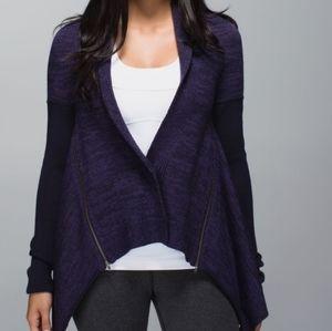 LULULEMON wrap it up sweater